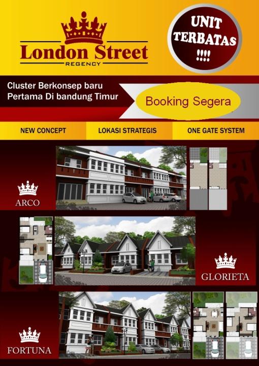PERUMAHAN DI BANDUNG LONDON STREET REGENCY